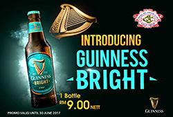 Introducing Guinness Bright