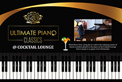 Ultimate Piano Classics @ Cocktail Lounge