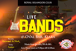 Live Bands @ Oval Bar, Kiara