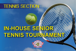 In - House Senior Tennis Tournament